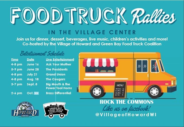 Food truck rally promo image