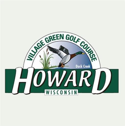 Village Green Golf Course Logo