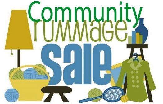 community rummage sale 2